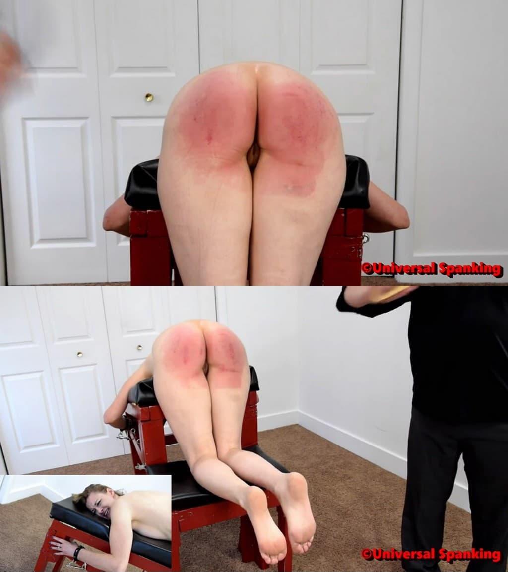Universal Spankingand Punishments – MP4/Full HD – Shy Sky – Naked Judicial Punishment 2 – struggling with the pain