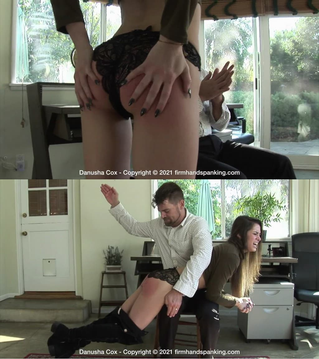 Firm Hand Spanking – MP4/HD – Danusha Cox – Discipline Counselor – B/See new brat Danusha Cox spanked to the max, kicking and yelling, hair tossing! (Release date: Feb. 12, 2021) – CORPORAL PUNISHMENT