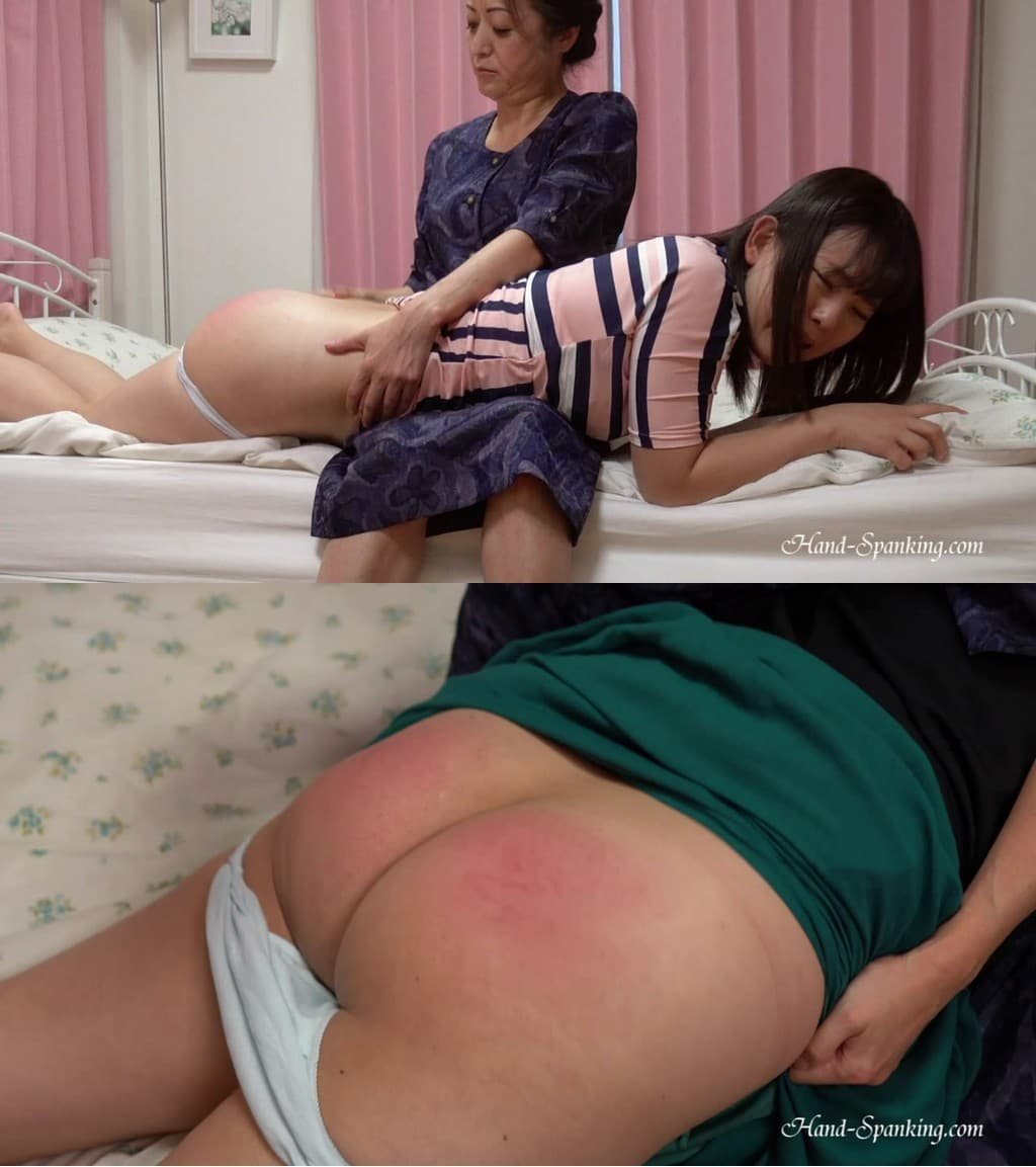 Hand-Spanking – MP4/Full HD – Airu, Sayuri, Yuu – Our House Rule (Eng Sub)