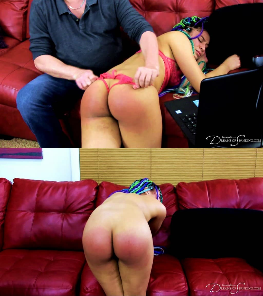 Dreams of Spanking – MP4/Full HD – Jayda Blayze – Caught Camming and Behind The Scenes