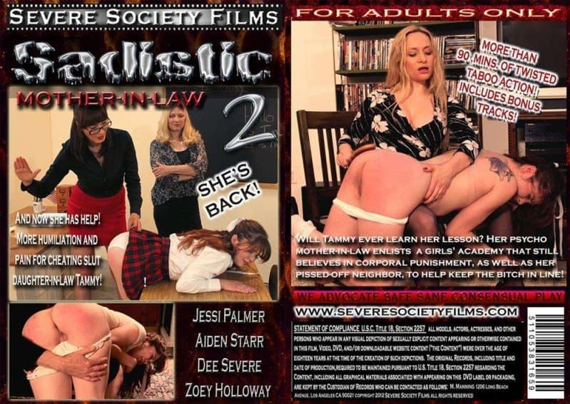 Severe Sex Films – TS/Full HD – Aiden Starr, Dee Severe, Jessi Palmer, Zoey Holloway – Sadistic Mother in law 2