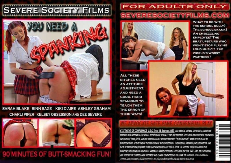 Severe Sex Films – TS/Full HD – Ashlee Graham, Charli Piper – You Need A Spanking