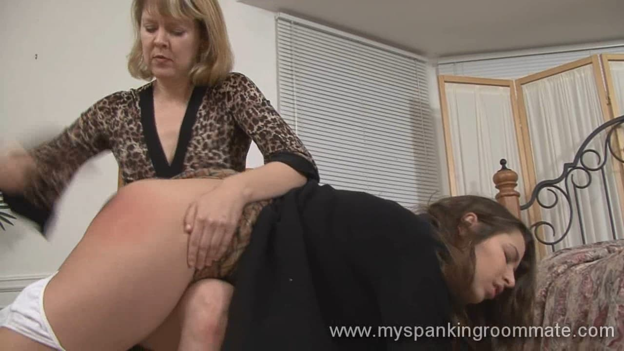 My Spanking Roommate – WMV/HD – Clare Fonda, Sierra Salem, Madison Martin, Kay Richards – Clare spanks Sierra Salem