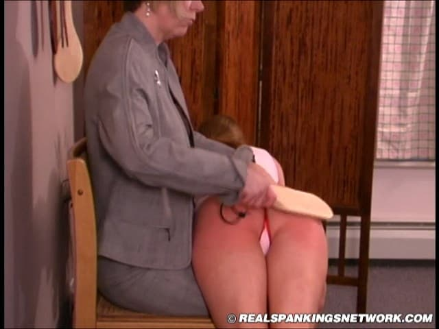 OTK-Spankings – RM/SD –  Jessica – OTK Spanking with Ms. Burns