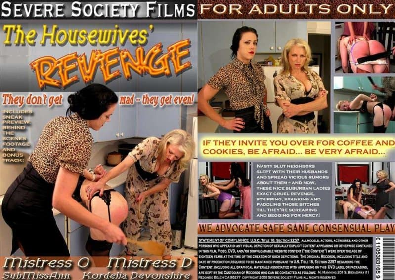 Severe Sex Films – TS/SD – Jewell Marceau, Dee Severe – Housewives' Revenge