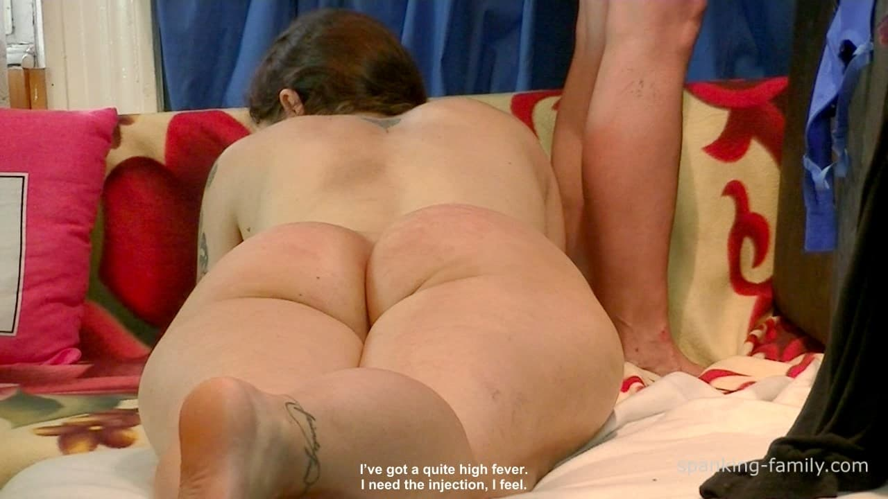 Spanking-Family – MP4/HD – Rectal Exam And Injection For Big Ass
