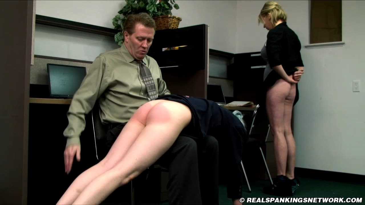 Real Spankings Institute –  MP4/SD – Roxie – Slacking at Their Off Campus Jobs (Part 1 of 2)