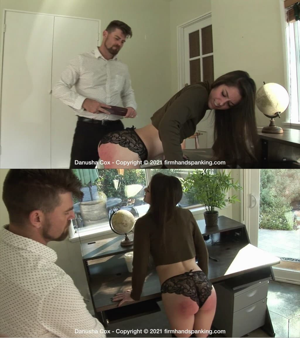 Firm Hand Spanking – MP4/HD – Danusha Cox – Discipline Counselor – D/ Bare bottom spanking and paddling for blonde hottie Lucy Lauren in the garden (Release date: Feb. 26, 2021)