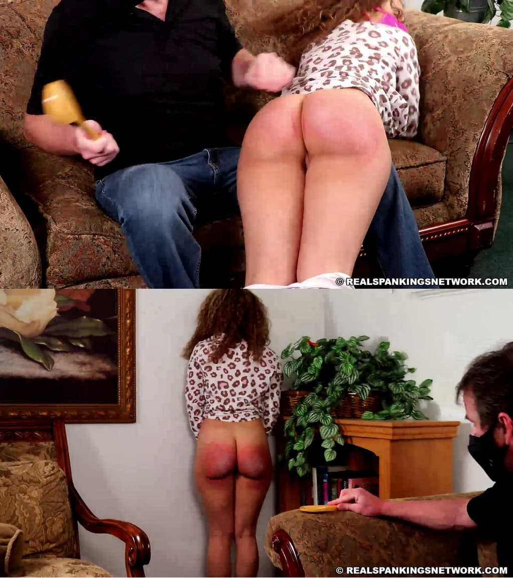 Real Spankings – MP4/Full HD – Kiki Cali – Corporal Punishment Instead Of Phone Restrictions (part 2) – OTK (Over The Knee)