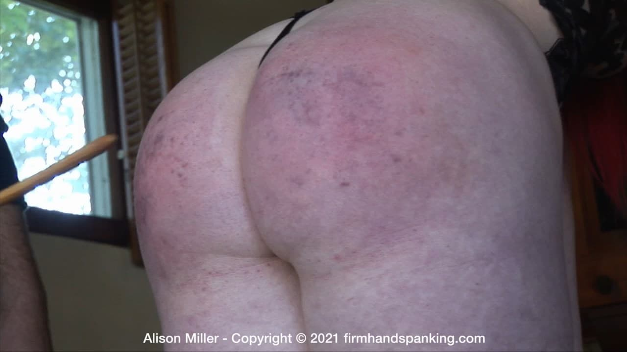 Firm Hand Spanking –  MP4/HD –  Alison Miller – Diva Model – F