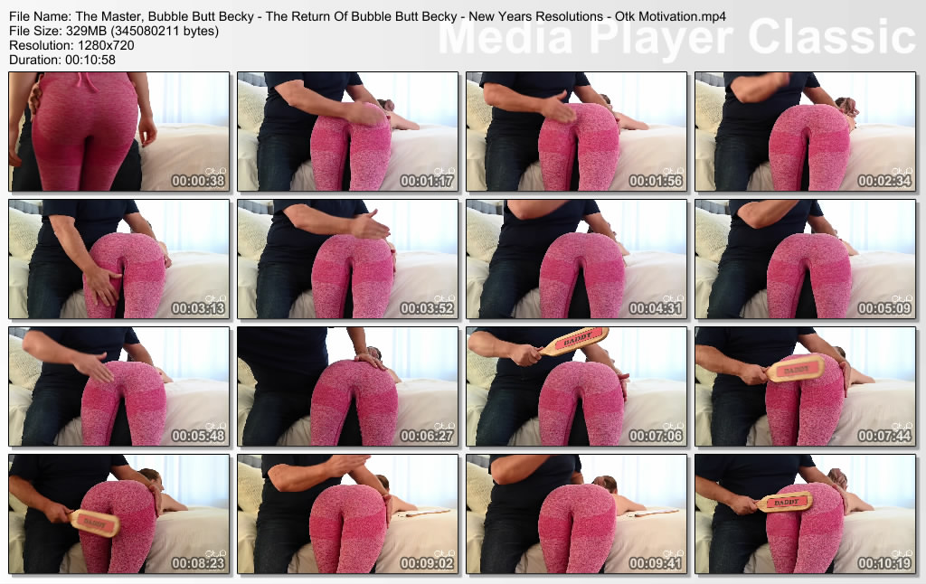 Assume The Position Studios – The Master Bubble Butt Becky The Return Of Bubble Butt Becky New Years Resolutions Otk Motivation image 2 - Assume The Position Studios – MP4/HD – The Master, Bubble Butt Becky - The Return Of Bubble Butt Becky - New Years Resolutions - Otk Motivation (Release date: Mar. 23, 2021) - EROTIC SPANKING