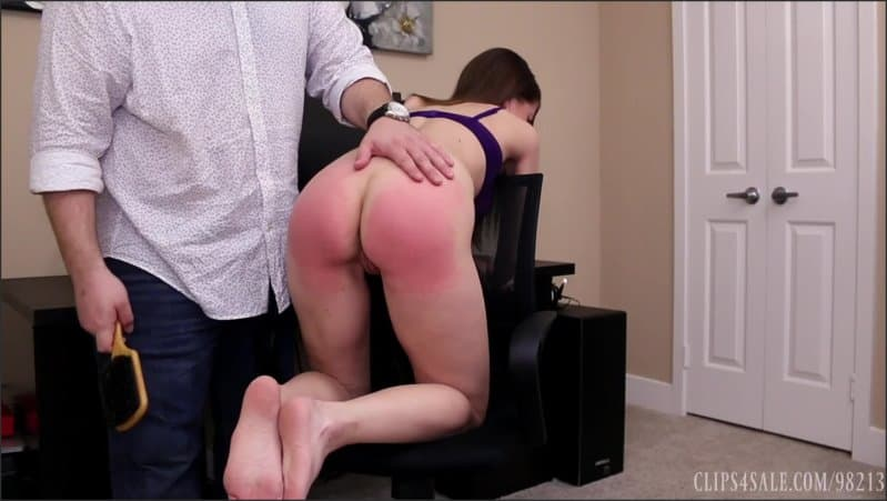Captive Chrissy Marie – MP4/HD – Chrissy Marie – Secretary Spanked For Discipline