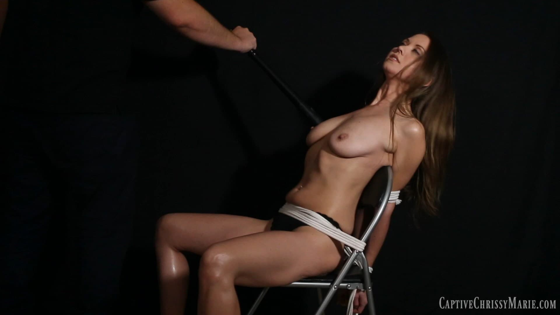 Captive Chrissy Marie – MP4/Full HD – Chrissy Marie – Stripped, Stretched and Interrogated 2