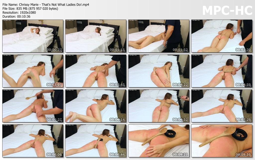 Chrissy Marie Thats Not What Ladies Do.mp4 thumbs - Captive Chrissy Marie – MP4/Full HD – Chrissy Marie - That's Not What Ladies Do!