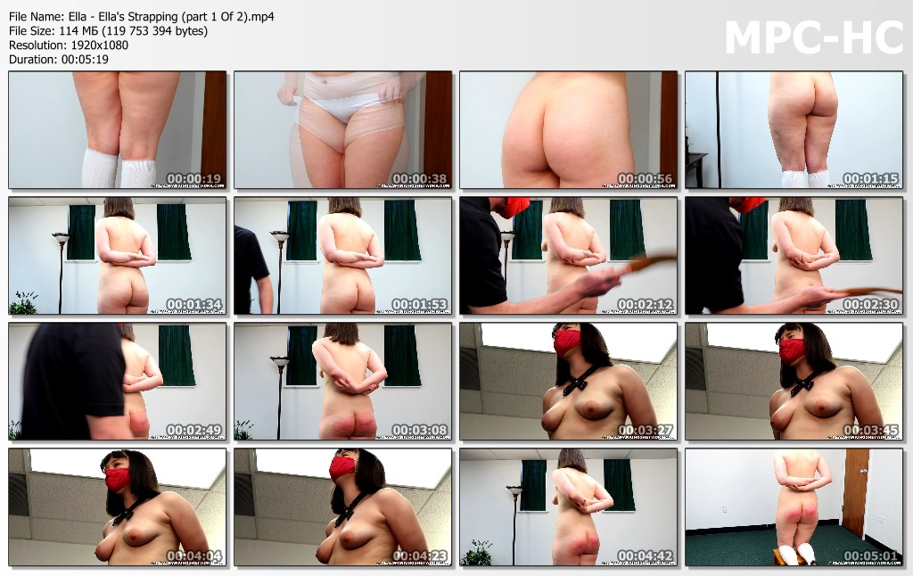 Ella Ellas Strapping part 1 Of 2.mp4 thumbs - Real Spankings Institute – MP4/Full HD – Ella - Ella's Strapping (part 1 Of 2)