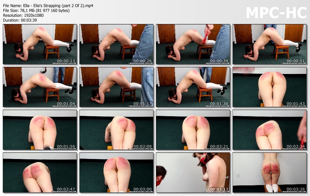 Ella Ellas Strapping part 2 Of 2.mp4 thumbs - Real Spankings Institute – MP4/Full HD – Ella - Ella's Strapping (part 2 Of 2)