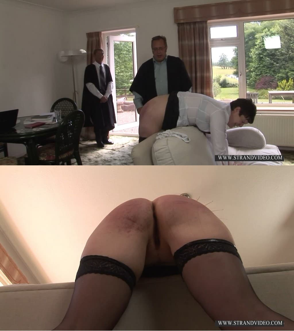 English Spankers – MP4/Full HD – Rebecca Hayes, Mr. Snaith, Mr. Stern – Cane Her Headmaster