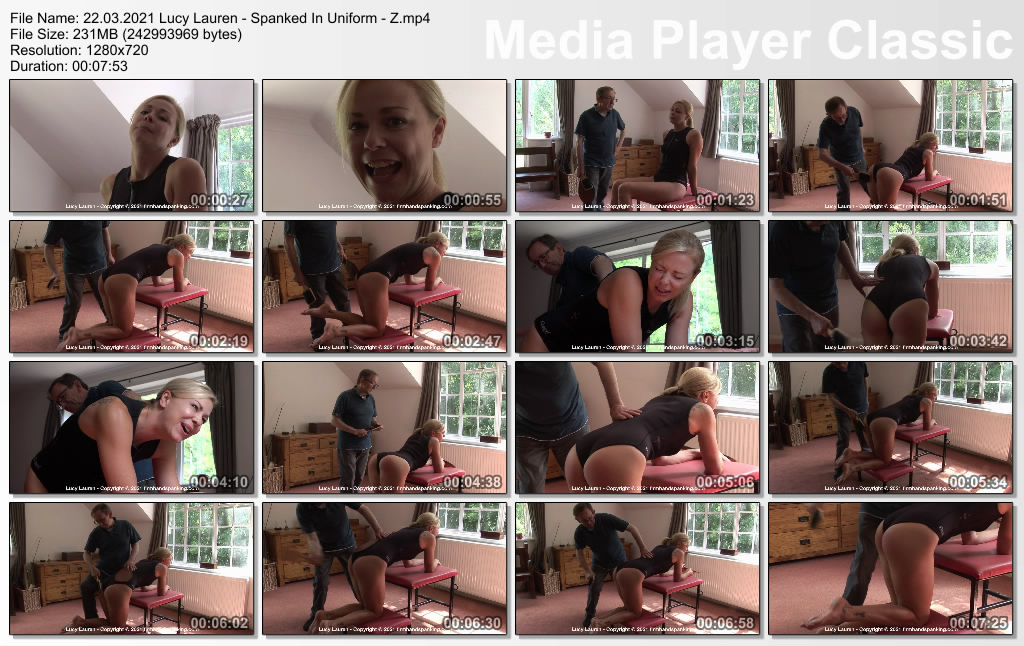Firm Hand Spanking – Lucy Lauren Spanked In Uniform ZLucy Lauren takes a hairbrush spanking in her neoprene wet suit Release date Mar. 22 2021 image 2 - Firm Hand Spanking – MP4/HD – Lucy Lauren - Spanked In Uniform - Z/Lucy Lauren takes a hairbrush spanking in her neoprene wet suit! (Release date: Mar. 22, 2021)