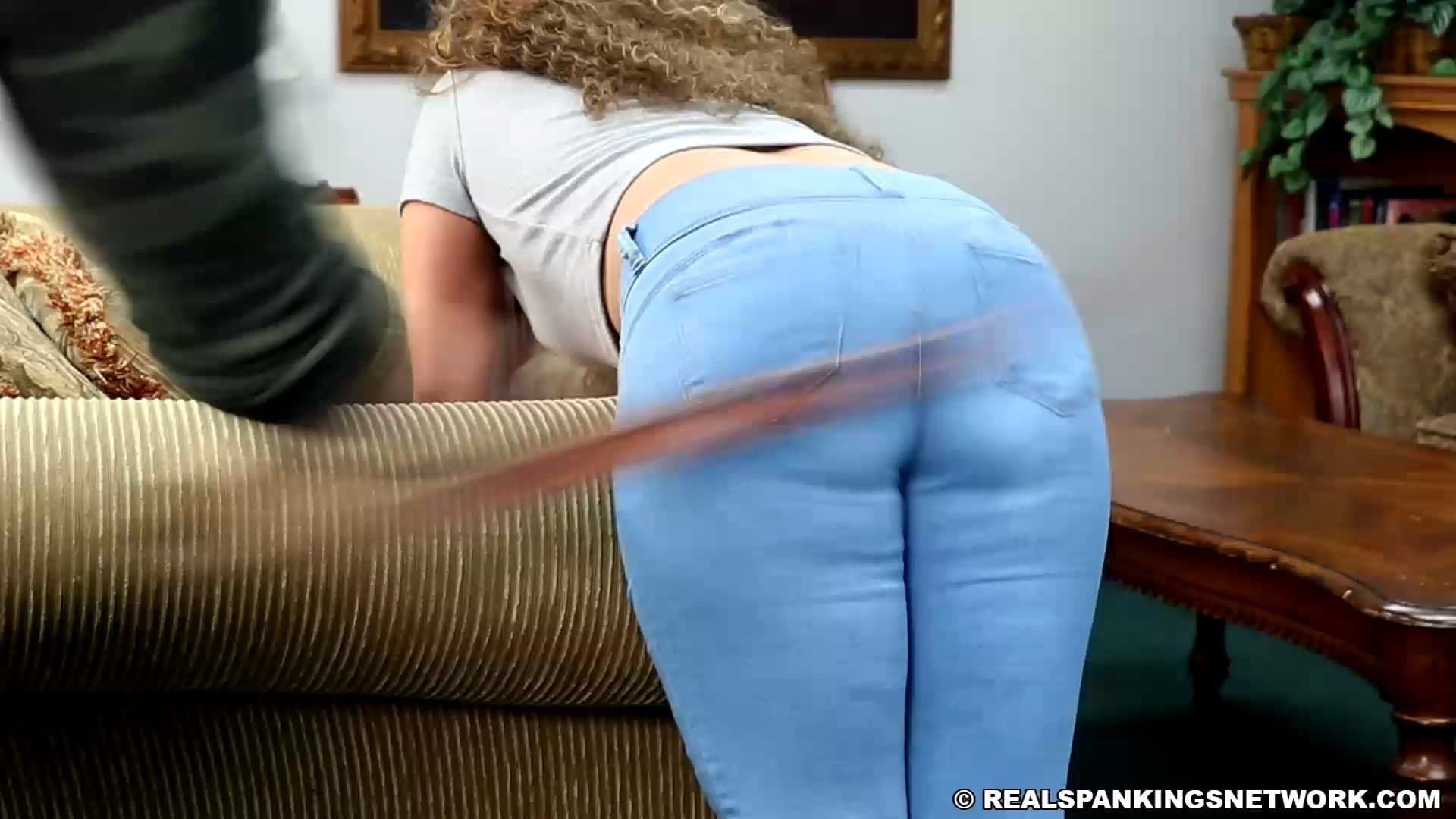 Kiki Cali Kikis Bad Attitude Earns Her A Whoopin.mp4 snapshot 02.04.758 1 - Real Spankings – MP4/Full HD – Kiki Cali - Kiki's Bad Attitude Earns Her A Whoopin'