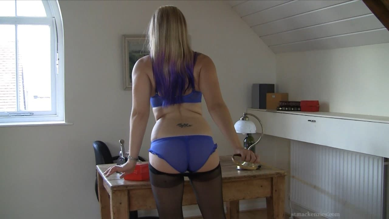 MP4/HD – Miss Drogan – Naughty Teacher Miss Drogan Strips While Drinking Wine and Playing With Her Cane