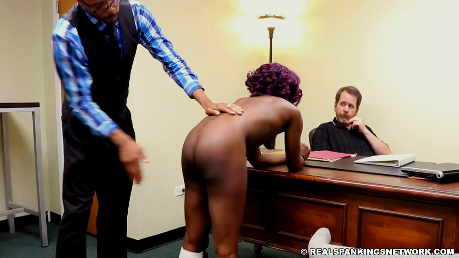 Real Spankings Institute – MP4/HD – Nuna – Cleo And Nuna Get A Hand Spanking In The Dean's Office (part 2 Of 2)