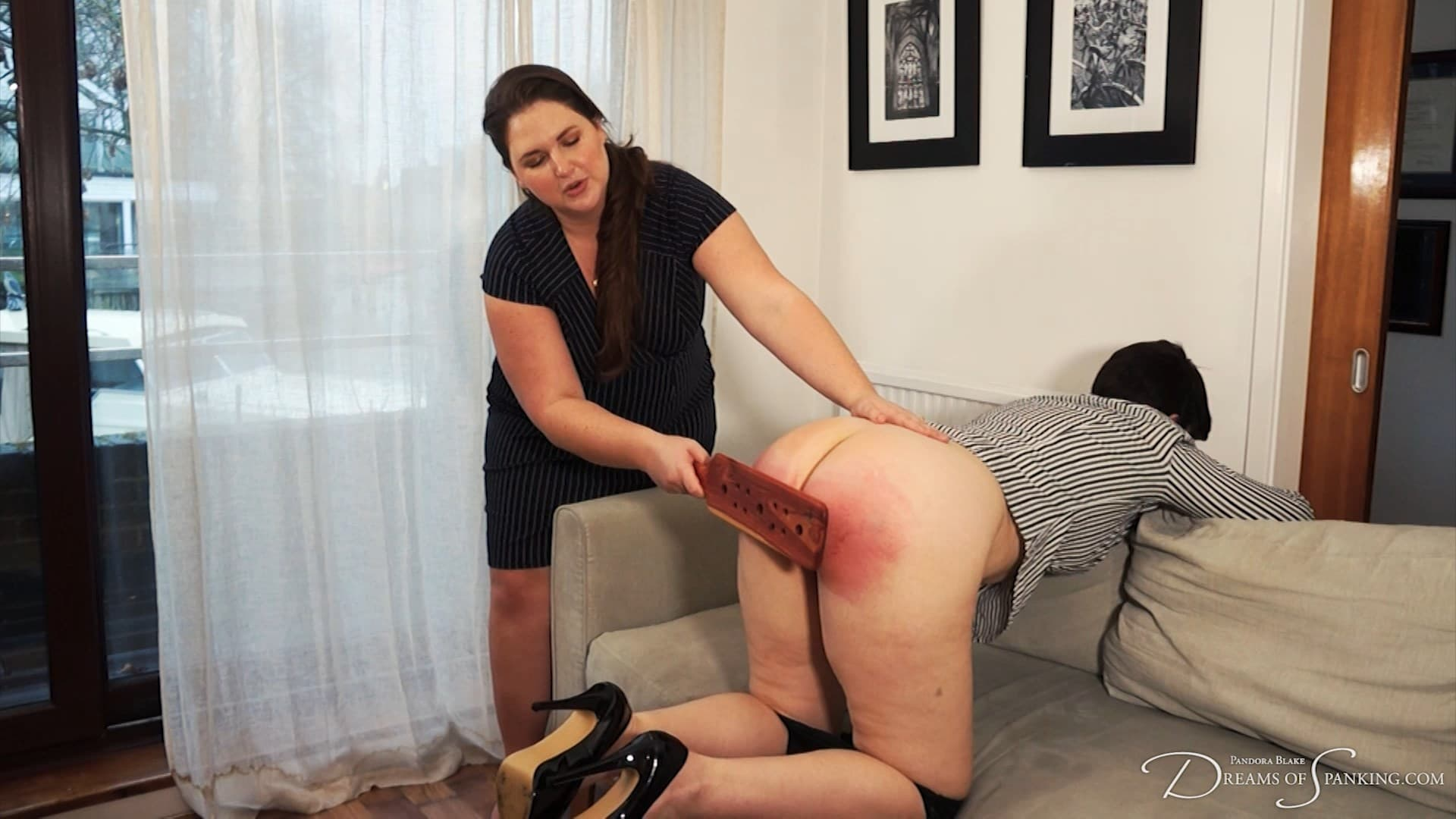 Dreams of Spanking – MP4/Full HD – Pandora Blake, Kelley May – Paddled And Humiliated