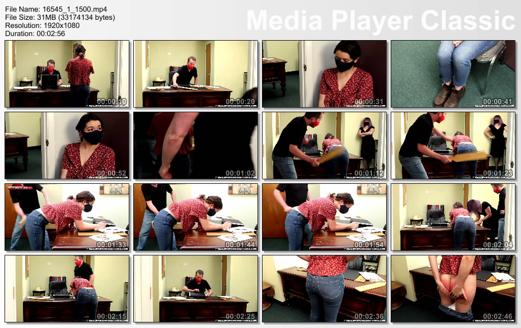 Real Spankings – Kaylee Paddled For Going Off Campus image 2 - Real Spankings – MP4/Full HD – Kaylee - Paddled For Going Off Campus