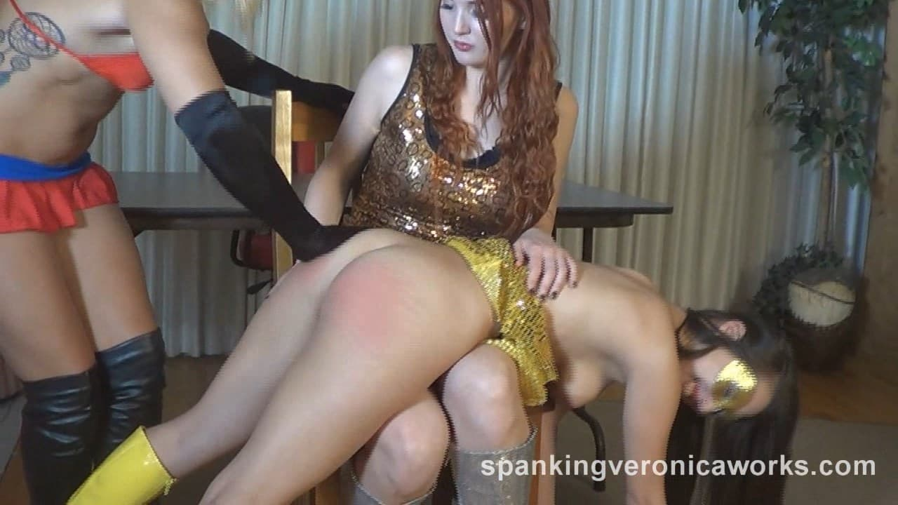 Spanking Veronica Works – MP4/SD – Veronica Ricci, Jenna Sativa, Mandy Muse, Madison Martin – Superheroine Spankings