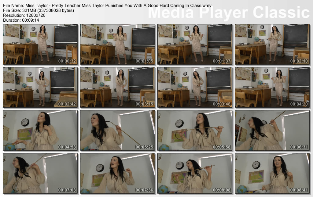 thumbs20210312143107 - St Mackenzie's – MP4/HD – Miss Taylor - Pretty Teacher Miss Taylor Punishes You With A Good Hard Caning In Class