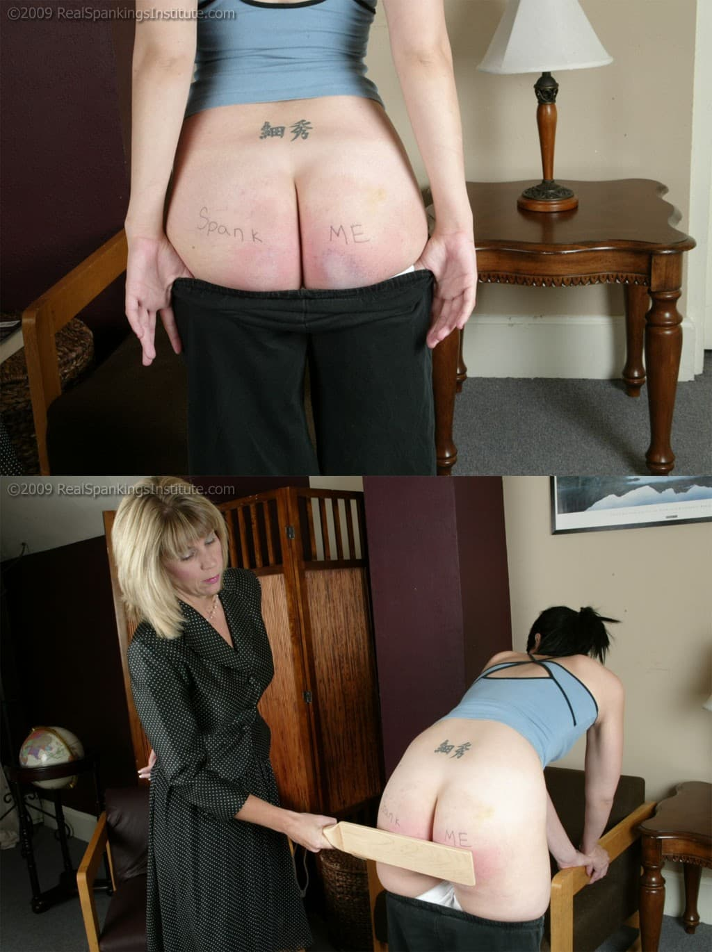 Real Spankings Institute – MP4/SD – Kailee's Wood Paddling (Release date: Apr 08, 2021) – Paddle (Wooden)