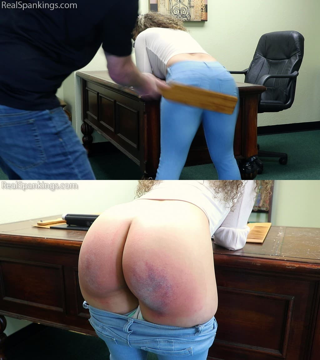 Real Spankings – MP4/SD – Spanked At School, Spanked at Home (Part 1 of 2) (Release date: Apr 09, 2021)