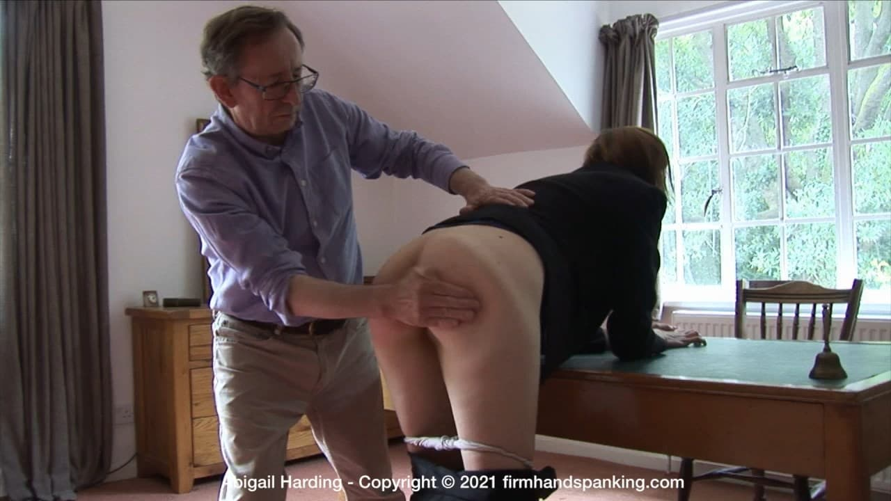 Abigail Harding The Estate A.mp4 snapshot 06.47.040 - Firm Hand Spanking – MP4/HD – Abigail Harding - The Estate - A/Introducing our latest new model: Abigail Harding takes her first-ever spanking (Release date: Apr 16, 2021)
