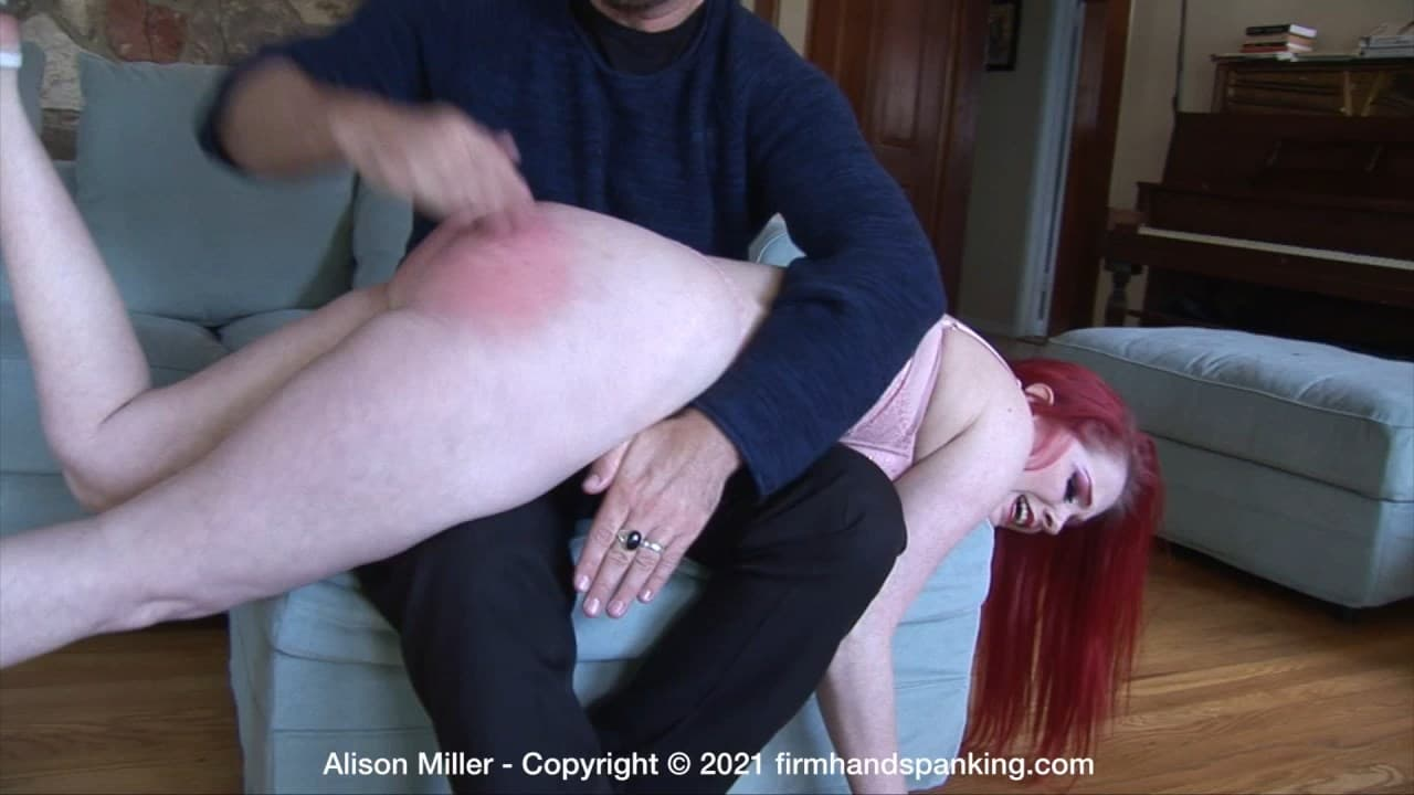 Firm Hand Spanking – MP4/Full HD – Alison Miller – Diva Model – H