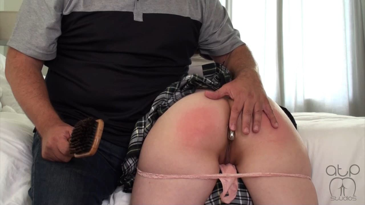 Assume The Position Studios – MP4/Full HD – Casey Calvert, The Master – Graduation Party Anal Plug And Hairbrush Spanking