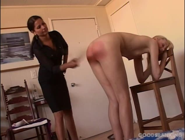 Good Spanking – MP4/SD – Chelsea Pfeiffer, Amelia-Jane Rutherford – A Visit To The Disciplinarian