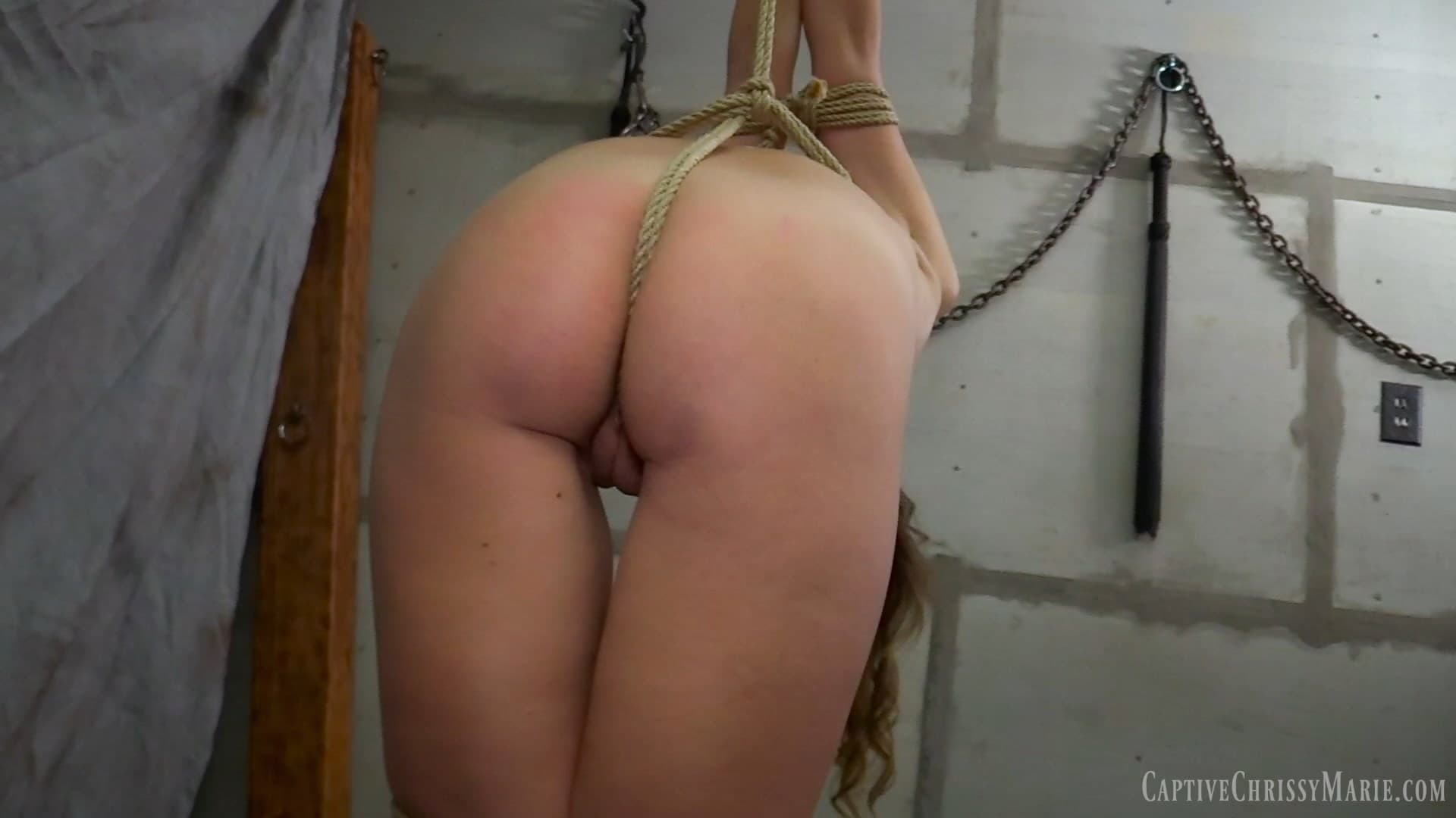 Captive Chrissy Marie – MP4/HD – Chrissy Marie – Strict Strappado Predicament