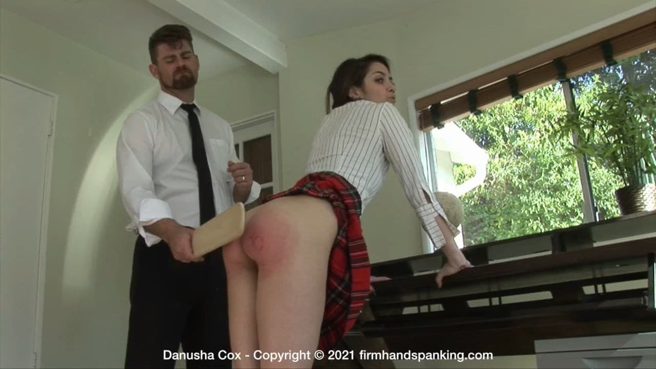 Firm Hand Spanking – MP4/Full HD – Danusha Cox – Discipline Counselor – J