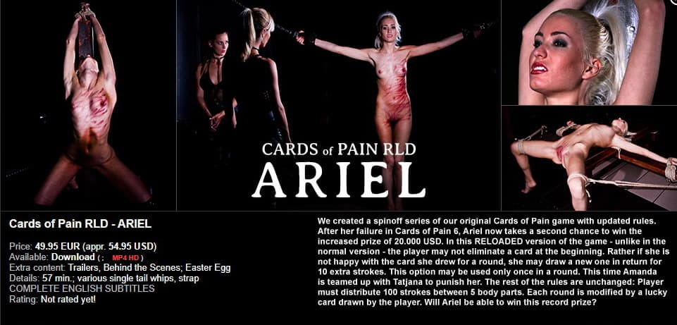 Elite Pain – Cards of Pain RLD image 1 - Elite Pain – MP4/Full HD – Cards of Pain RLD – Ariel