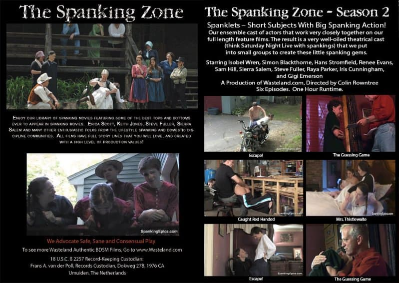 MP4/HD – Erica Scott, Keith Jones – The Spanking Zone Season 2