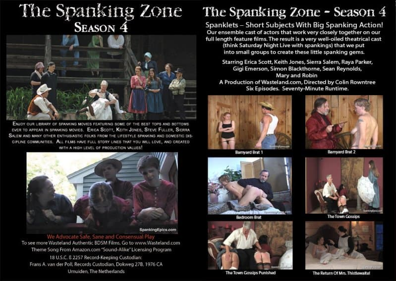 MP4/Full HD – Erica Scott, Keith Jones – The Spanking Zone Season 4
