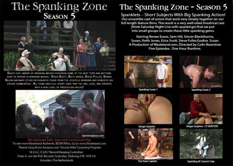 MP4/SD – Erica Scott, Keith Jones – The Spanking Zone Season 5