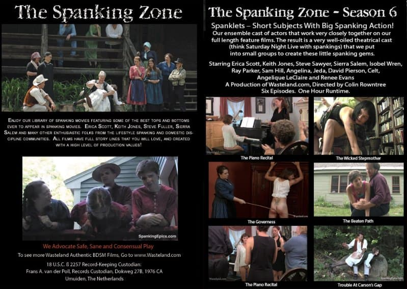 MP4/HD – Erica Scott, Keith Jones – The Spanking Zone Season 6