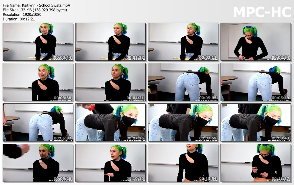 Kaitlynn School Swats.mp4 thumbs - Real Spankings – MP4/Full HD – Kaitlynn - School Swats