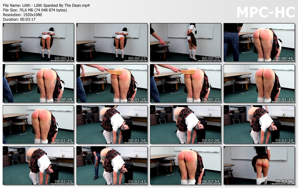 Lilith Lilith Spanked By The Dean.mp4 thumbs - Real Spankings Institute – MP4/Full HD – Lilith - Lilith Spanked By The Dean
