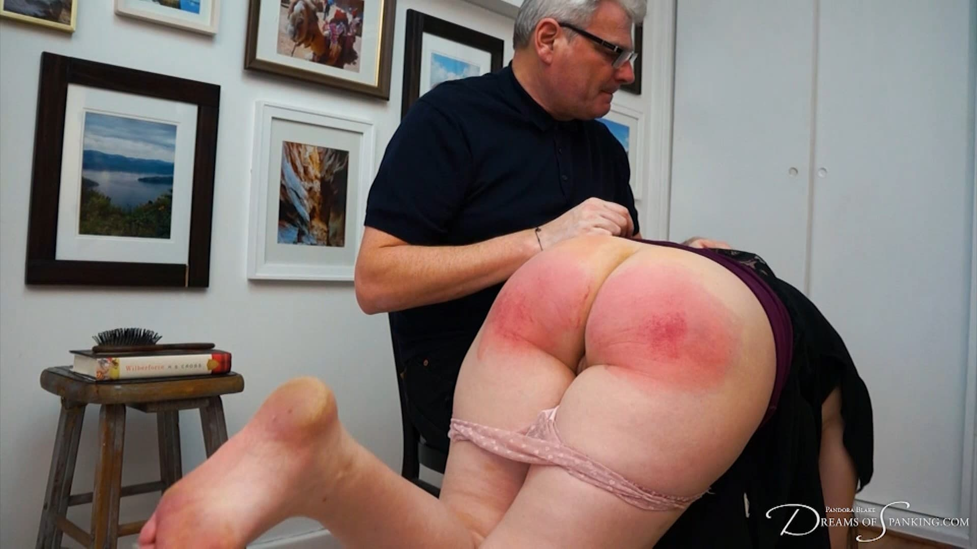 Dreams of Spanking – MP4/Full HD – Pandora Blake, Stephen Leiws – His Spanked Wife + Behind The Scene