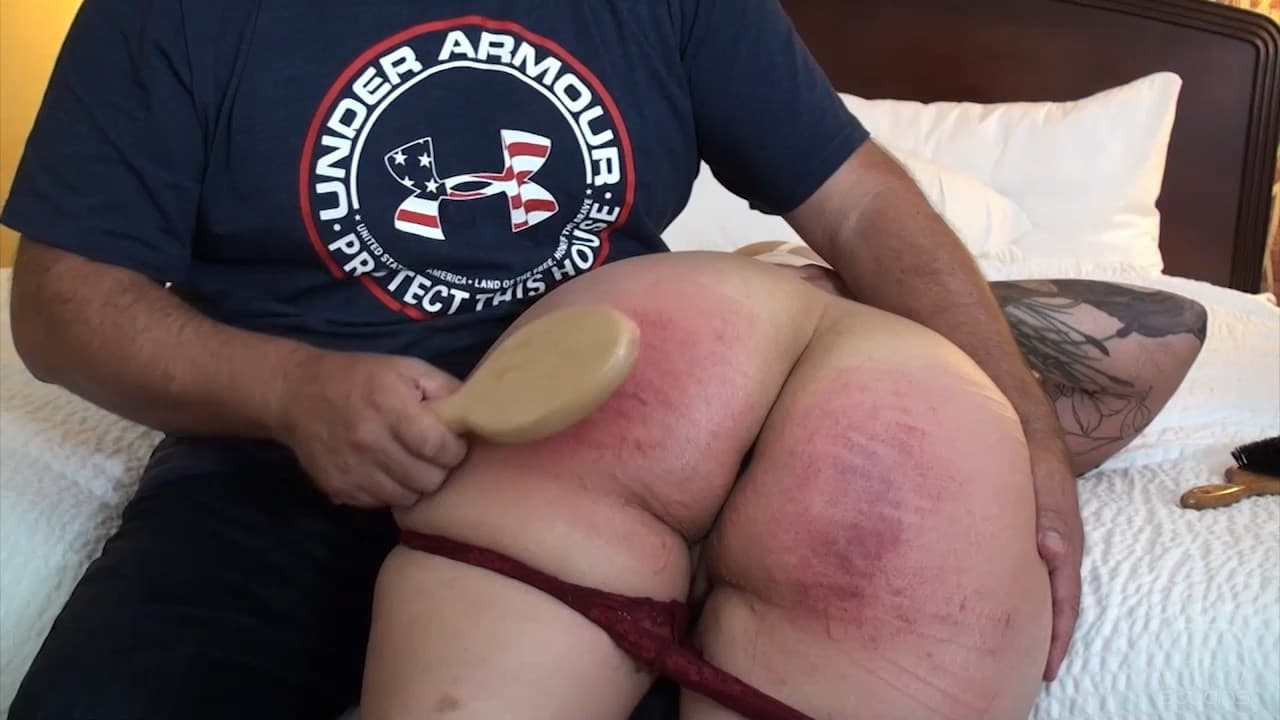 Assume The Position Studios – MP4/SD – The Master, Jiggles – Spanking Virgin Series – Jiggles Hairbrush Blistering