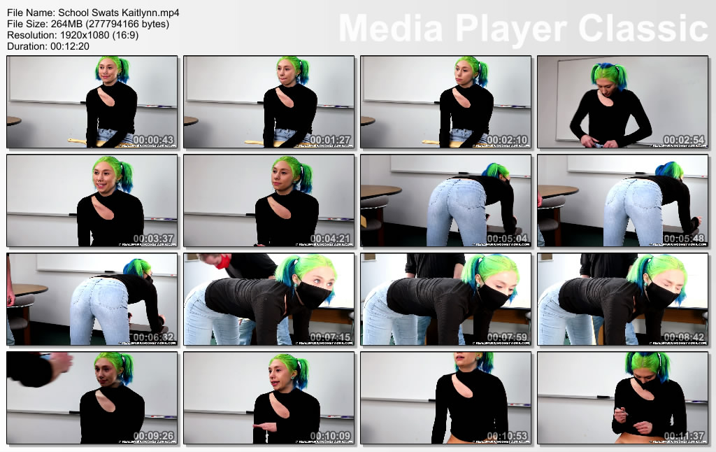 thumbs20210407121533 - Real Spankings – MP4/Full HD – School Swats: Kaitlynn (Release date: Apr 05, 2021) - Paddle (Wooden)