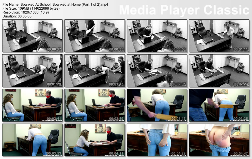 thumbs20210412015946 - Real Spankings – MP4/Full HD – Spanked At School, Spanked at Home (Part 1 of 2) (Release date: Apr 09, 2021) - Paddle (Wooden)