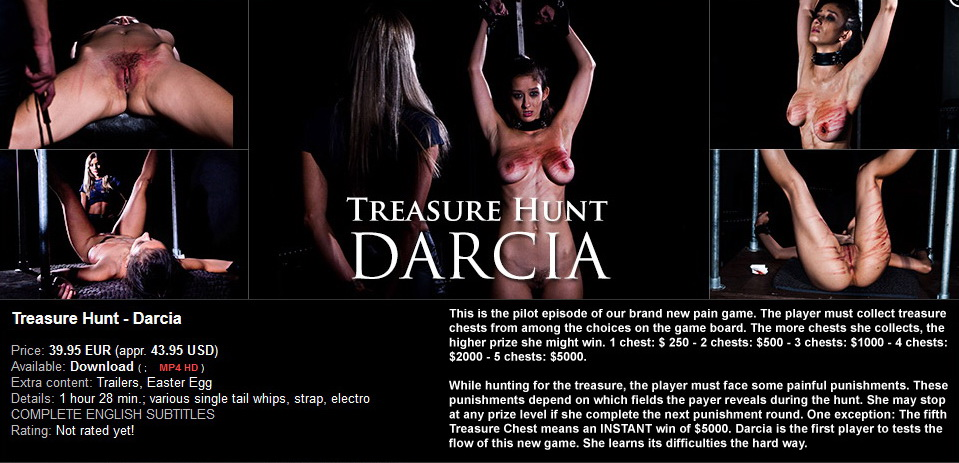 Elite Pain – MP4/HD – Treasure Hunt – Darcia