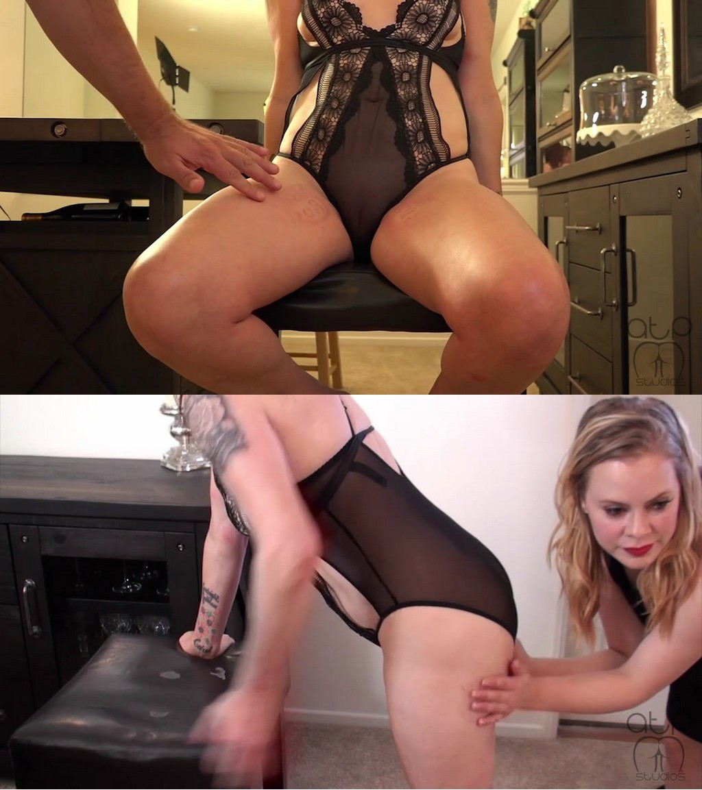 Assume The Position Studios – MP4/HD – Stevie Rose, The Master, Loz – Marked For Her Mistress – Marking Loz For Mistress Stevie (Release date: May. 18, 2021) – THIGH SPANKING